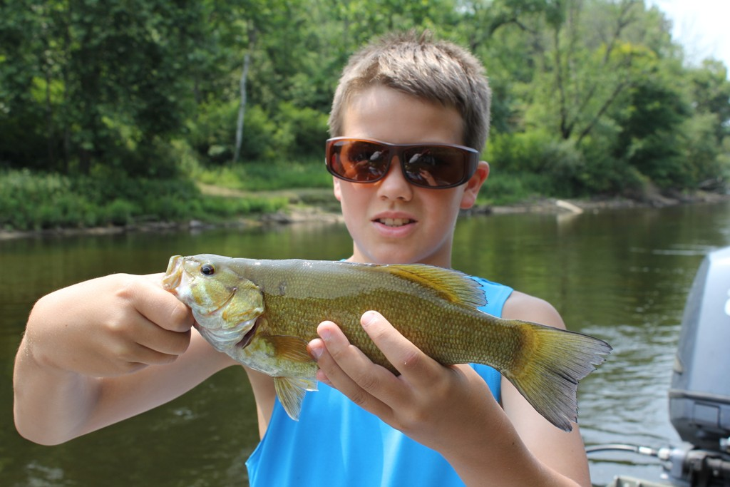 Muskegon River Fishing Report - August 6, 2014