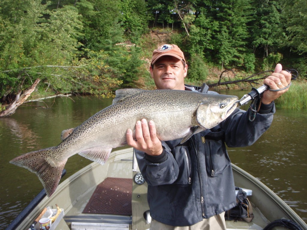 Muskegon River Fishing Report August 30 2014