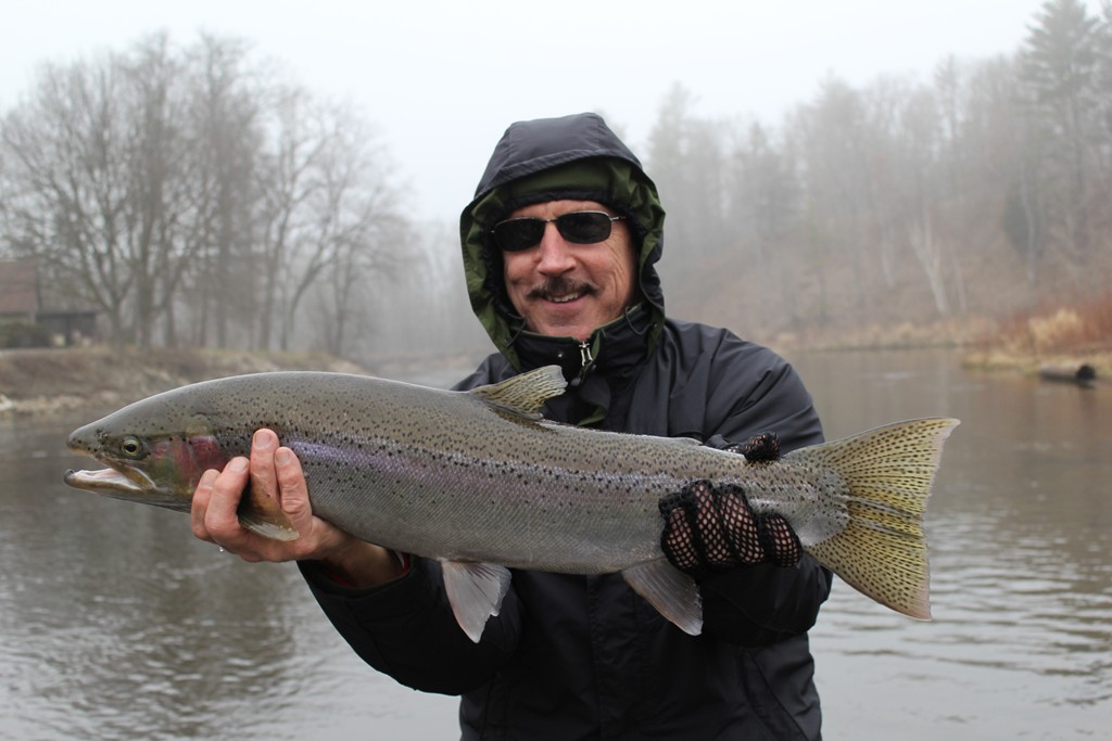 Muskegon river fishing report december 14 2014 for West michigan fishing report