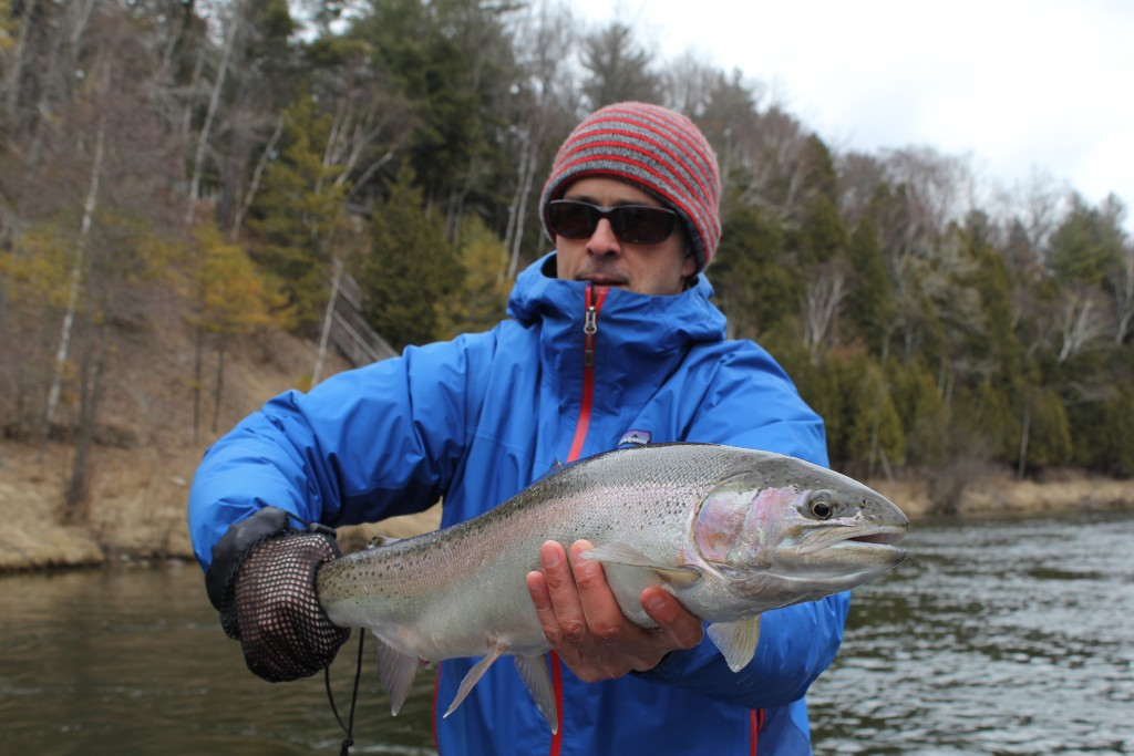 Muskegon River Spring Steelhead Fishing Report March 28