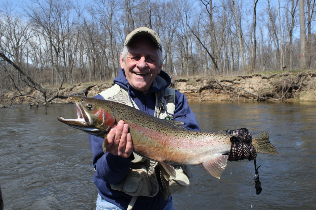 Muskegon river fishing report april 18 2015 for West michigan fishing report