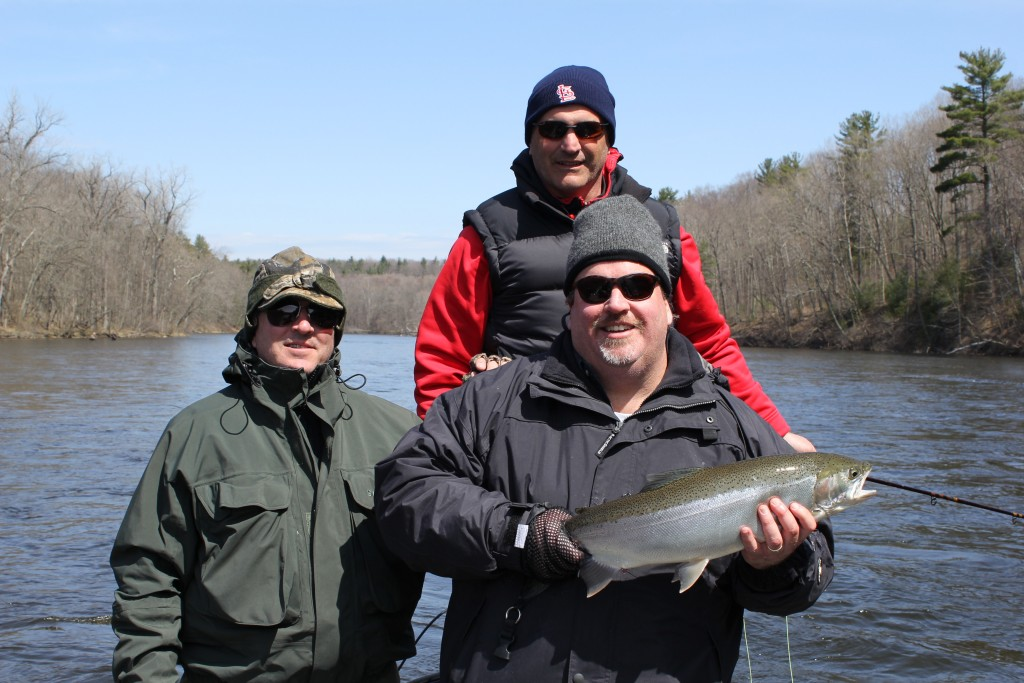 Muskegon river fishing report april 27 2015 for West michigan fishing report