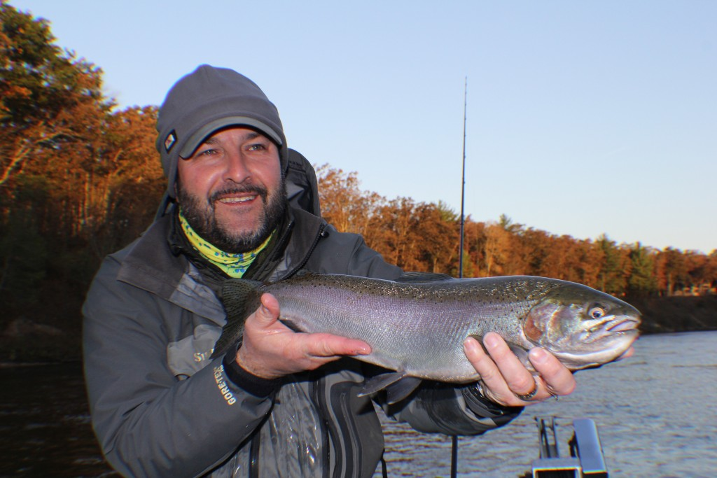 Muskegon river fishing report newaygo mi october 20 for West michigan fishing report