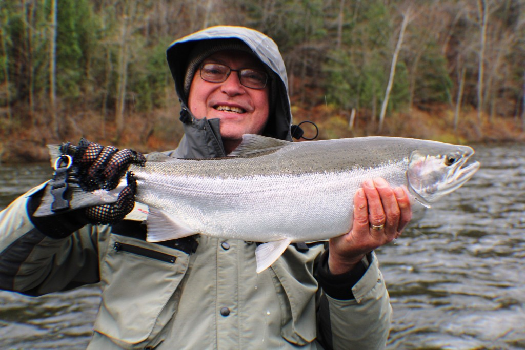 Muskegon river fishing report newaygo mi november 21 for West michigan fishing report