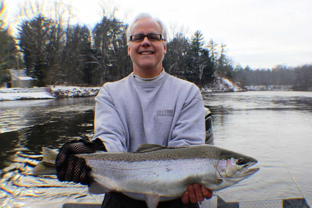 Muskegon river fishing report newaygo mi november 26 for West michigan fishing report