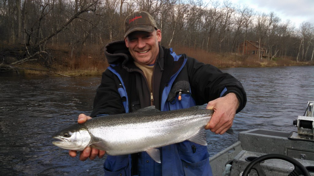 Muskegon river fishing report newaygo mi december 10 for West michigan fishing report