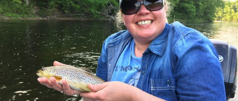 Muskegon river fly fishing