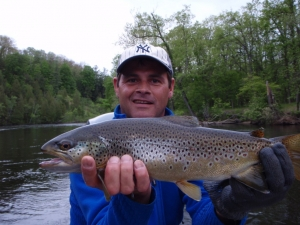 Muskegon River Trout Fishing Report - Newaygo, MI - May 15